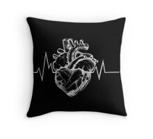 'OtherPeople'sHeartache' - black Throw Pillow