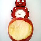 Robot apple 2 by impossiblesong