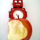 Robot apple 3 by impossiblesong