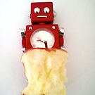 Robot apple 4 by impossiblesong