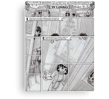 Little Zoe's Adventures in Limbo Canvas Print