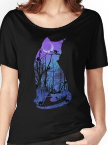 CATMOON Women's Relaxed Fit T-Shirt