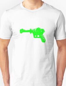 Alien Ray Gun - Green T-Shirt
