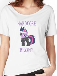 Hardcore Brony Women's Relaxed Fit T-Shirt