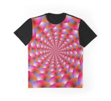 Spiral of Spheres Graphic T-Shirt
