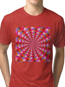 Spiral of Spheres Tri-blend T-Shirt