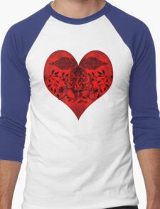 INDIANHEART Men's Baseball ¾ T-Shirt