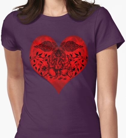 INDIANHEART Womens Fitted T-Shirt