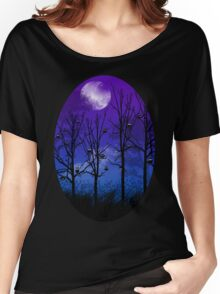 OWLMOON Women's Relaxed Fit T-Shirt