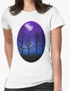 OWLMOON Womens Fitted T-Shirt