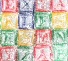 Children's Blocks Sticker