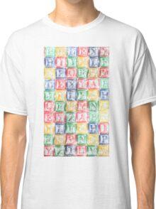 Children's Blocks Classic T-Shirt