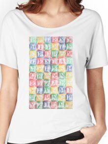 Children's Blocks Women's Relaxed Fit T-Shirt