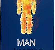 Man on fire (smaller logo) by gr8erAchilles