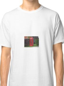 British Telephone Box Classic T-Shirt