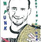 CM Punk Best In The World Comic Book Image by chrisjh2210