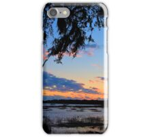 Beaufort Harbor Sunset iPhone Case/Skin