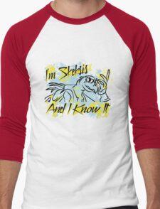 Skesis And I Know It Men's Baseball ¾ T-Shirt