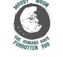 Moody Moon by vanillafiction