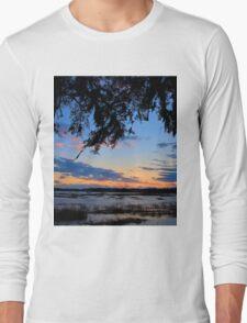 Beaufort Harbor Sunset Long Sleeve T-Shirt