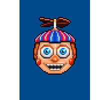 Five Nights at Freddy's 2 - Pixel art - Balloon Boy Photographic Print