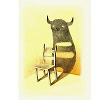 Chair Monster Photographic Print