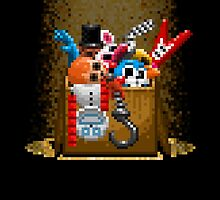 Five Nights at Freddy's 3 - Pixel art - What can we use? - Box of animatronics by GEEKsomniac