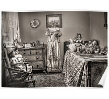 The Governess's Room ~ sepia Poster