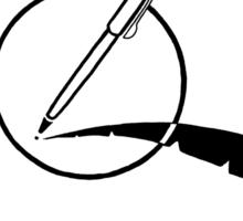 Pen One 1999 T-Shirt Sticker