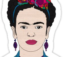 DEER FRIDA Sticker