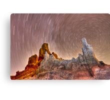 Los Roques de Garcia Canvas Print