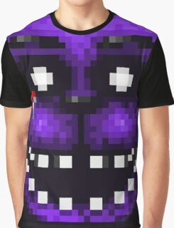 Five Nights at Freddy's 2 - Pixel art - Shadow Freddy Graphic T-Shirt