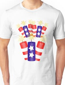 Firecracker Celebration  Unisex T-Shirt