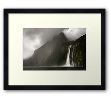 In the Mist of It Framed Print
