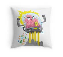 THE BRAINIAC Throw Pillow