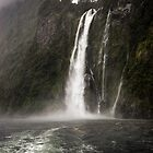 Stirling Falls, Still Raining by Michael Treloar