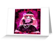Pink Fetish Greeting Card