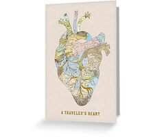 A Traveler's Heart Greeting Card