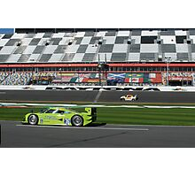 Colin Braun in 76 Krohn Aviation Lola-Ford  Photographic Print