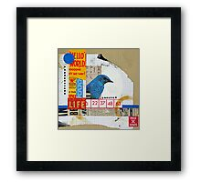 Hello World Framed Print