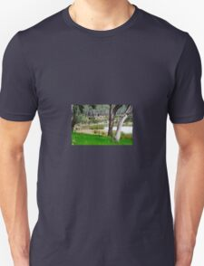 Water hole in the forest Unisex T-Shirt