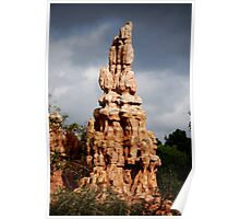 Big Thunder Clouds Poster