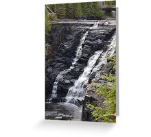 Kakabaka Falls Thunder Bay Greeting Card