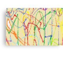 Specks Canvas Print