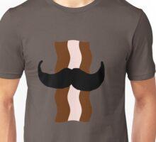 Moustache Bacon  Unisex T-Shirt