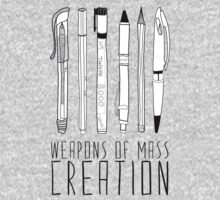 Weapons Of Mass Creation Kids Clothes