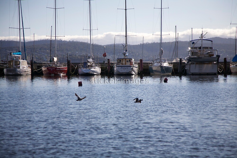 seascapes #283, moored by stickelsimages