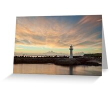 Light Me Up - Wollongong NSW Greeting Card