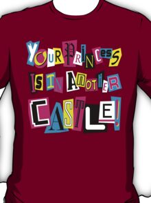 PRINCESS RANSOM NOTE T-Shirt