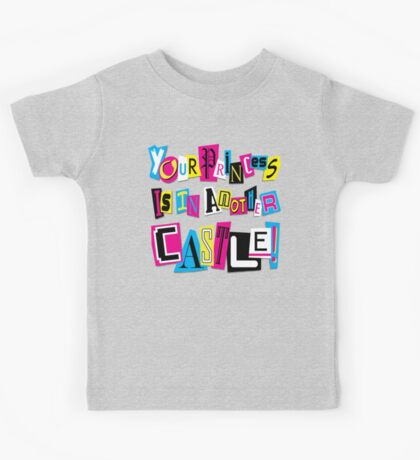 PRINCESS RANSOM NOTE Kids Clothes